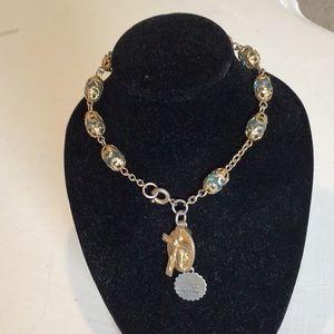 Jewelry - Religious vintage bracelet!